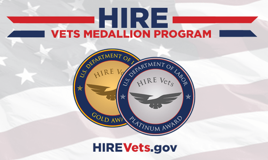 Berry Law Honored with Platinum Medallion Award for their Dedication to Employing Veterans