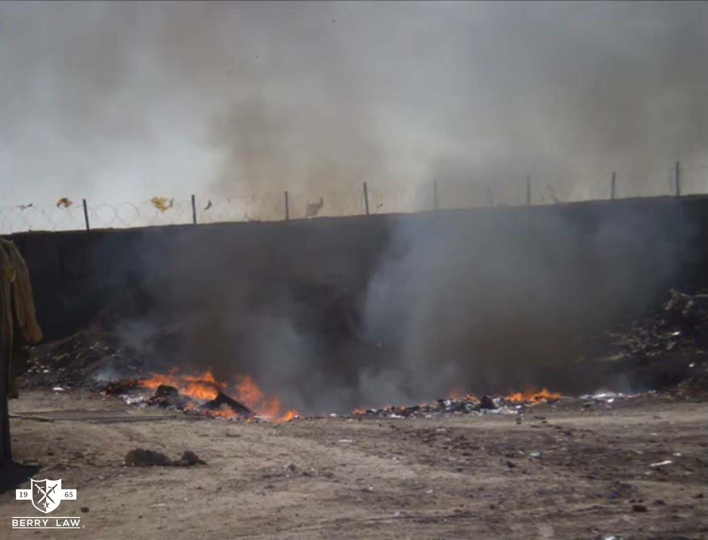 VA Launches Open Burn Pit Registry